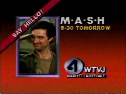 Promo for M*A*S*H on WTVJ