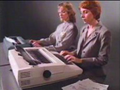 Xerox 620 typewriter commercial
