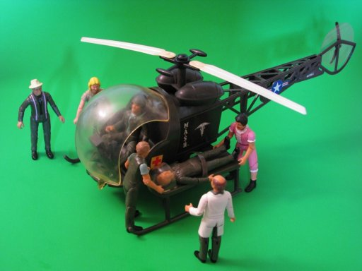 Tristar M*A*S*H Helicopter