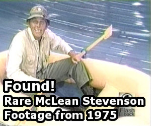 Link to a post about McLean Stevenson in a Raft on Cher in 1975