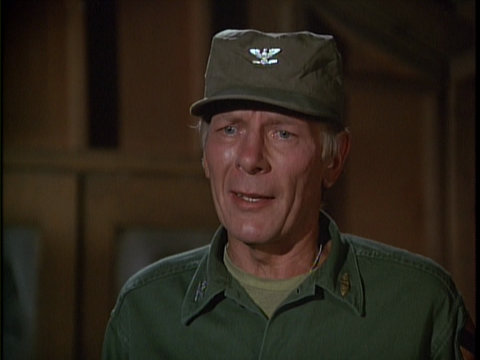 Image of actor Frank Marth from the MASH episode 'Hey, Doc'