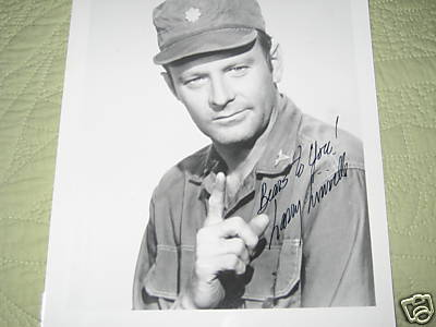 Autographed Photo of Larry Linville