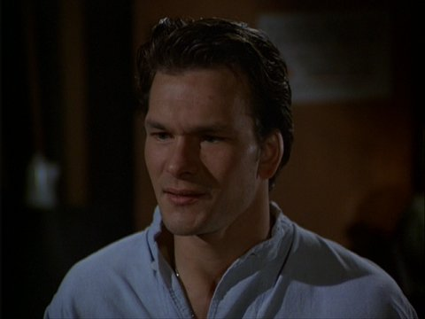 Patrick Swayze in Blood Brothers