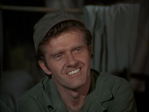 An image of actor Paul Jenkins from the M*A*S*H episode The Moose