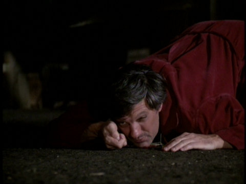Still from the M*A*S*H episode Hawk's Nightmare showing Hawkeye