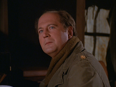 Still from the M*A*S*H episode Death Takes a Holiday showing Charles