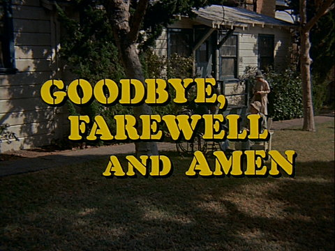 Still from the M*A*S*H episode Goodbye, Farewell and Amen