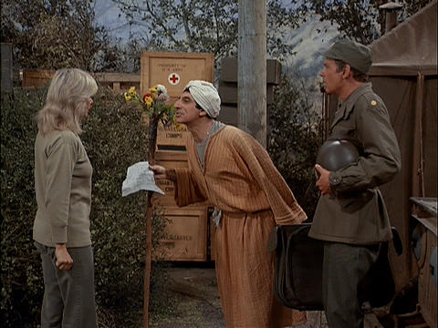 Klinger in the compound, proselytizer of Sh-boom
