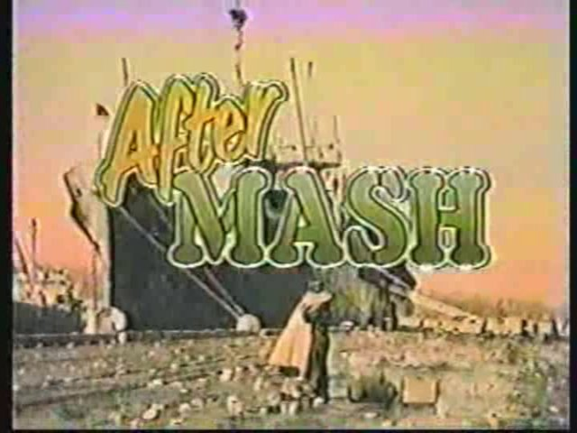 Still from the series premiere of AfterMASH.