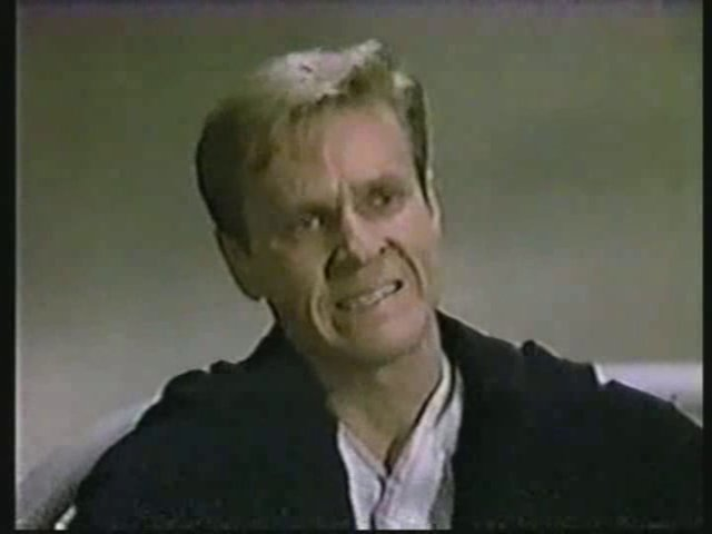 Still from the AfterMASH episode Fallout showing Bill Sadler as Joe Warner.