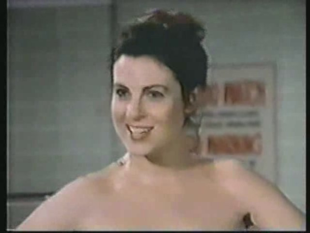 Still from the AfterMASH episode showing Dr. Lenore Dudziak.