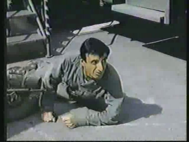 Still from the AfterMASH episode The Recovery Room showing Klinger.