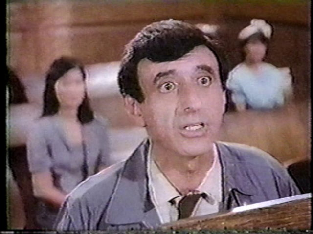 Still from the AfterMASH episode September of '53 showing Klinger.