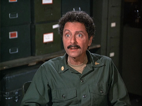 Image of actor Allan Arbus from the M*A*S*H episode Radar's Report.