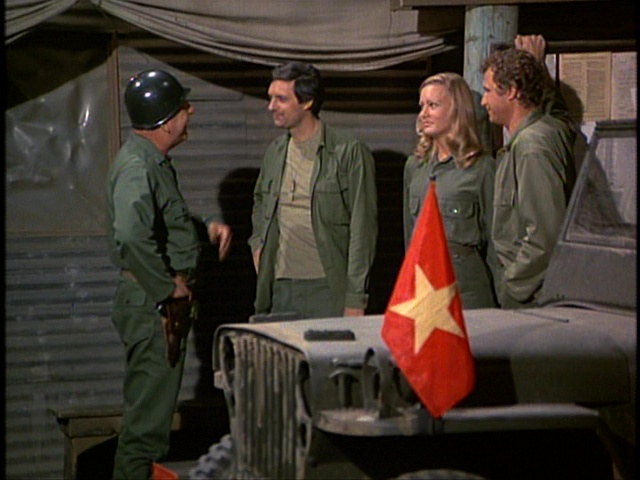 Still from the M*A*S*H episode For The Good Of The Outfit