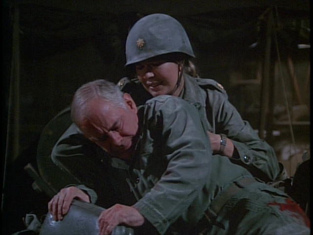 Still from the M*A*S*H episode Dear Ma