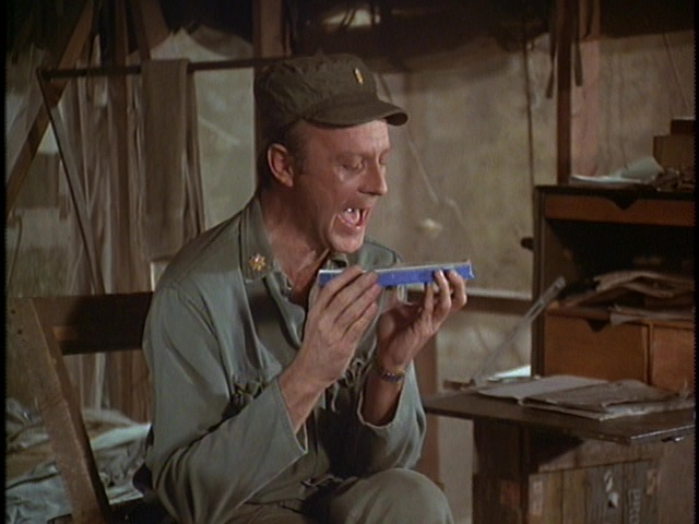 Still from the M*A*S*H episode 38 Across