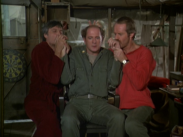 Still from the M*A*S*H episode Major Ego.