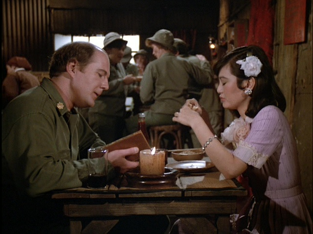 Still from the MASH episode Ain't Love Grand.