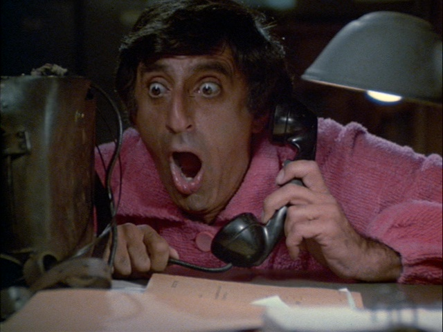 Still from the M*A*S*H episode The Yalu Brick Road showing Klinger.