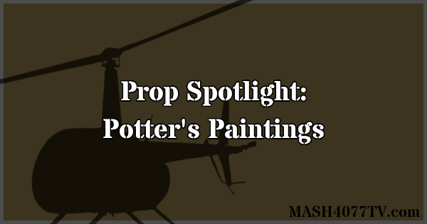 Learn about Colonel Potter's paintings from M*A*S*H.