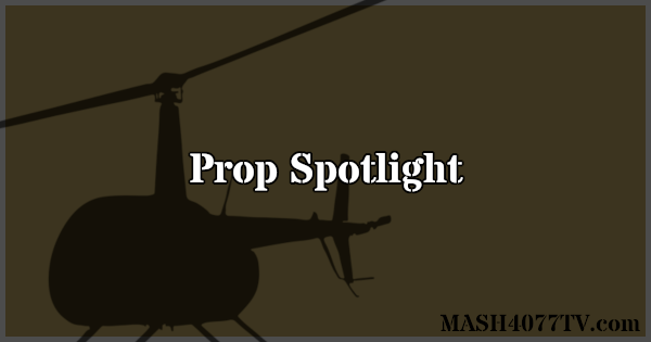 Learn about props seen on M*A*S*H like the signpost.