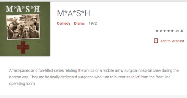 M*A*S*H on YouTube and Google Play - MASH4077TV com