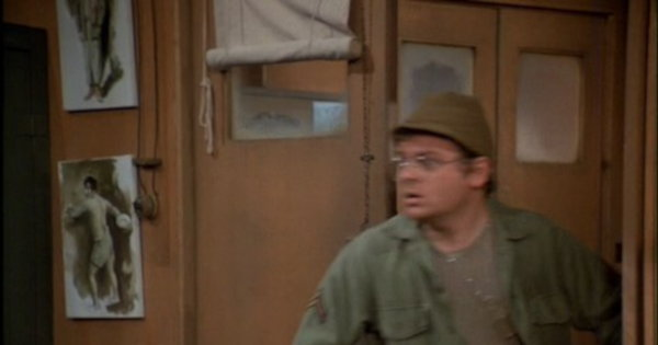 Partial still from an unidentified MASH episode.