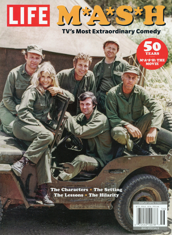 Scan of the cover to M*A*S*H: TV's Most Extraordinary Comedy