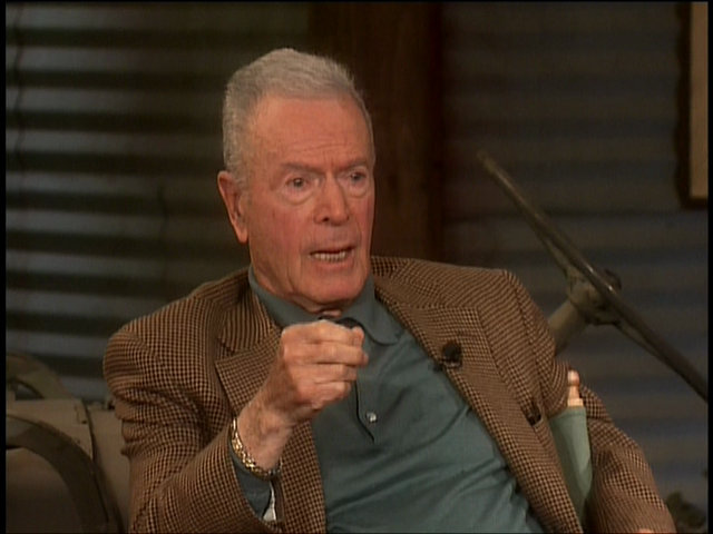 """Still of Gene Reynolds in Gene Reynolds in 2002, from the """"M*A*S*H 30th Anniversary Reunion Special"""""""