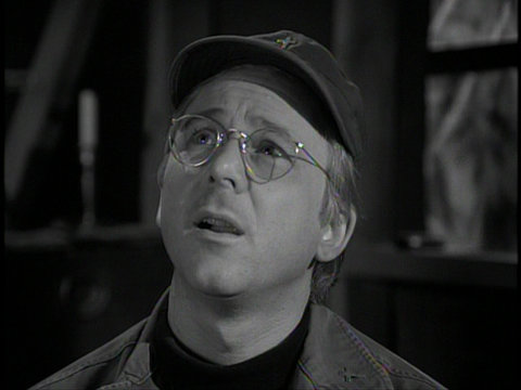 Image from the M*A*S*H episode The Interview showing Father Mulcahy.