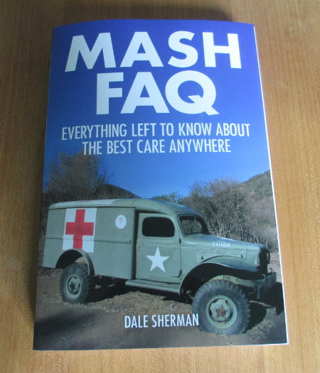 Photograph of a copy of the MASH FAQ book.