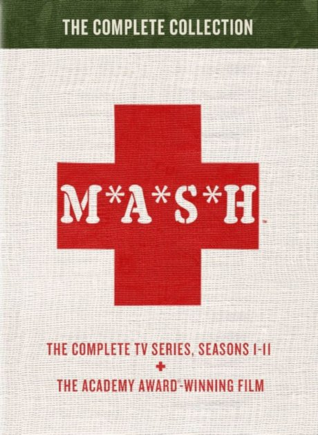 Cover artwork to the new M*A*S*H - The Complete Collection DVD set