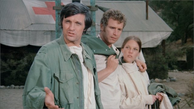 "Still from the HD version of ""M*A*S*H -- The Pilot"" on iTunes."