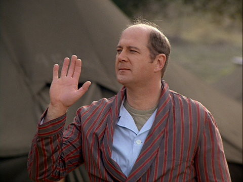 David Ogden Stiers in Goodbye, Farewell and Amen (Season 11)