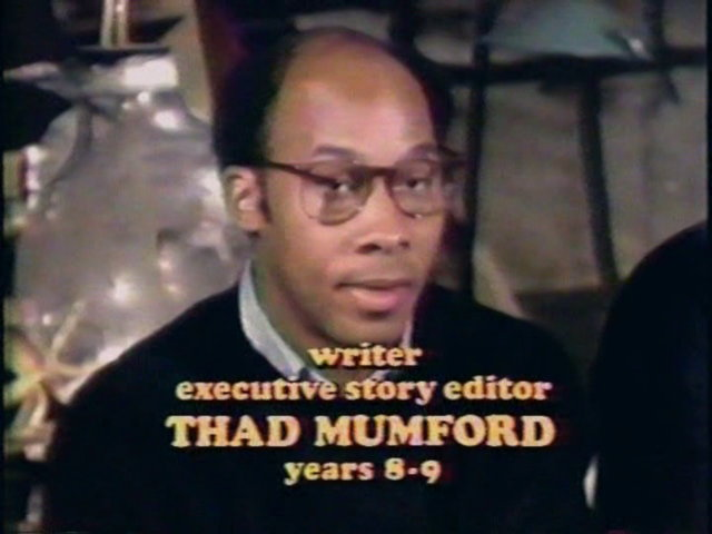 Still from the Making MASH documentary showing Thad Mumford.