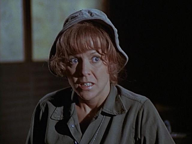 "Arlene Golonka as Nurse Edwina ""Eddie"" Ferguson in the Season 1 episode ""Edwina"""