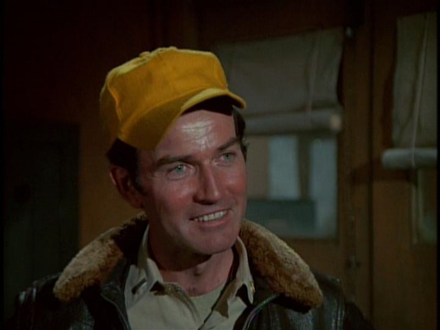 "Screen cap of Robert Hogan as  ""Smilin'"" Jack Mitchell in ""Smilin' Jack"" from Season 4."