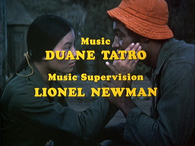 Still from the closing credits to the MASH episode The Moose.